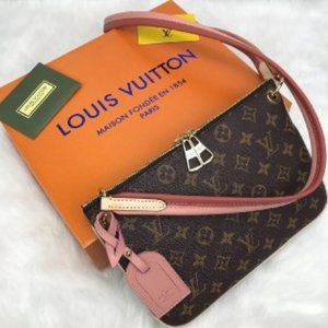 Louis Vuitton Lorette Bag babypink&pink